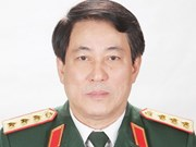 梁强上将担任越南人民军总政治局主任一职