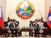 老挝与菲律宾加强合作