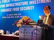 分享基础设施建设投资经验 加强粮食安全