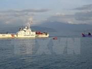 第11次越中北部湾共同渔区渔业海上联合检查圆满结束