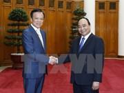 越南政府总理阮春福会见中国贵州省委书记陈敏尔