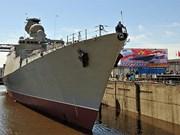 俄罗斯为越南海军制造的护卫舰成功下水