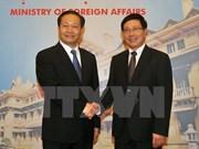 越南政府副总理兼外长范平明会见广西壮族自治区党委书记彭清华