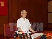 越共中央反腐败指导委员会召开第十次会议