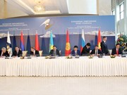 俄罗斯联邦委员会批准《越南与欧亚经济联盟自由贸易协定》
