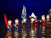 农民当艺人的鸿峰水上木偶戏坊