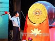 越南政府副总理王廷惠出席2016年炉门旅游节开幕式