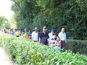 4·30和5·1假期宜安省胡伯伯故乡吸引游客量猛增