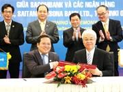 越南西贡商信银行与日本三家银行签署拓展客户群的谅解备忘录