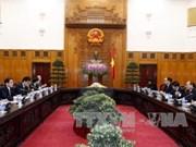 越南政府总理阮春福会见日本外务大臣岸田文雄