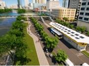 胡志明市大力推进绿色交通发展