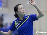 越南羽毛球一号选手武氏妆夺得里约奥运会参赛名额