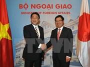 范平明副总理与日本外相岸田文雄举行会谈