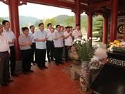越南政府副总理王廷惠赴宜安省演州县调研