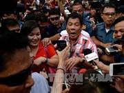 菲总统选举:前内政部长罗哈斯承认败选