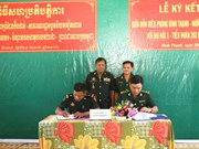 越南同塔省与柬埔寨波罗勉省签署2016年合作协议