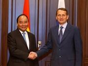 越南政府总理阮春福会见俄罗斯国家杜马主席纳雷什金