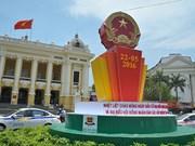 越南全国各地国旗飘扬 喜迎5·22选举日