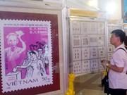 国会代表选举珍贵邮票展开幕