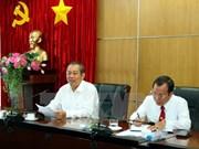 政府副总理张和平等领导检查各地选举工作