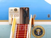 美国总统奥巴马圆满结束对越南进行的正式访问