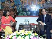 越南希望联合国继续协助实现可持续发展目标
