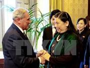 越南国会副主席对意大利进行工作访问