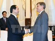 越南国家主席陈大光会见澳大利亚驻越南大使