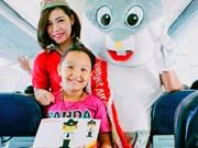 6.1国际儿童节:越捷航空公司将推出诸多娱乐活动