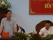 越南政府副总理王廷惠在嘉莱省调研