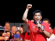菲律宾国会宣布罗德里戈·杜特尔特为新一届总统