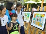 """""""第19次童年世界""""展览会在河内开幕"""