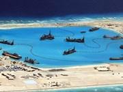 中国在东海的人工岛建设活动严重破坏东海珊瑚礁生态系统