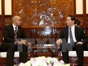国家主席陈大光会见古巴和欧盟驻越大使