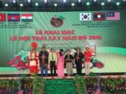 2016年第12届越南南部水果节开幕