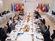 越南欢迎七国集团关于保障航行和飞越安全与自由的承诺
