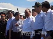 阮春福总理视察沉船事故现场 指示尽最大努力搜救