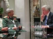 越南与欧盟、英国和意大利加强国防安全合作