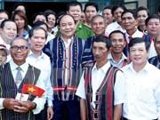 越南政府总理阮春福在林同省调研