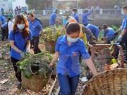 越南政府副总理郑廷勇出席国家级环保行动月启动仪式