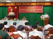 2016年上半年西南部地区国防安全交班会在芹苴市举行