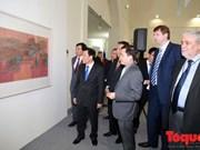 越南丝绸画亮相俄罗斯