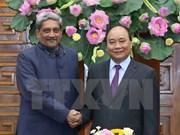 阮春福总理会见印度国防部部长帕里卡尔