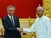 缅新签署互勉签证协议