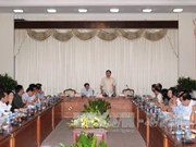 胡志明市市委书记丁罗升:胡志明市需要一个特殊机制