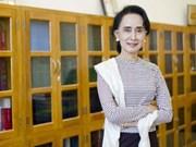 新加坡总理提名缅甸国家顾问兼外长昂山素季为东盟发言人
