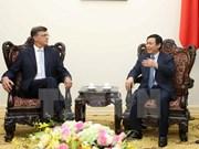 澳大利亚联邦银行总裁伊恩•纳瑞夫对越南经济前景表示乐观