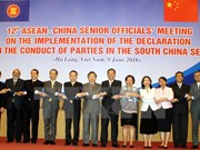 第12次东盟与中国高官会议在越南广宁省举行