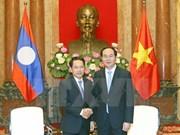 越南国家主席陈大光:加强越老合作 携手战胜困难与挑战