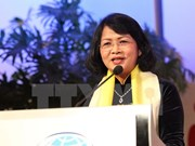 越南国家副主席邓氏玉盛出席第26届全球妇女峰会